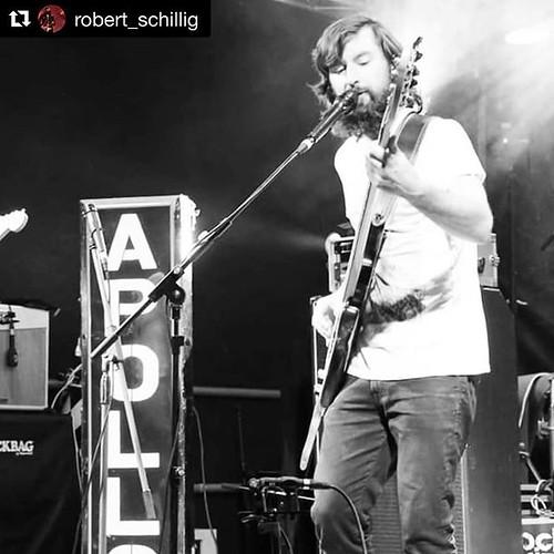 #Repost @robert_schillig with @get_repost ・・・ @rock_the_ruins_festival '19! . . . . . . . . . . @optimastrings @fender @apollo_apes #rocktheruins #liveonstage #apolloapes #openair #blacknwhite #apollo #frontman #psyhedelic #funk