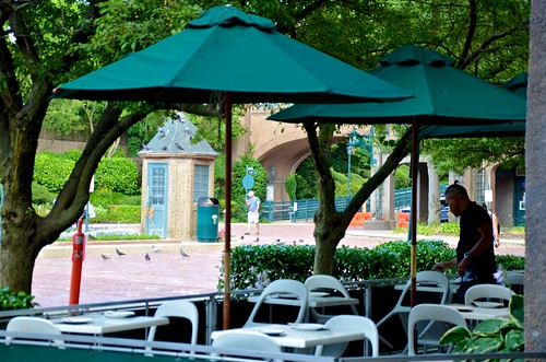 Cafe Seating On Station Square