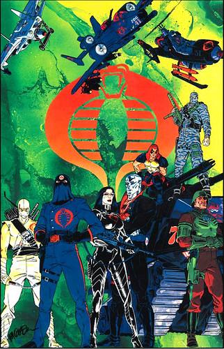 G.I. Joe 1984 Collection.