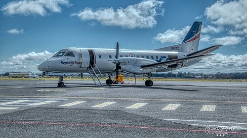 SAAB 340 at Orange Airport
