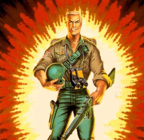 G.I. Joe 1983 Collection.