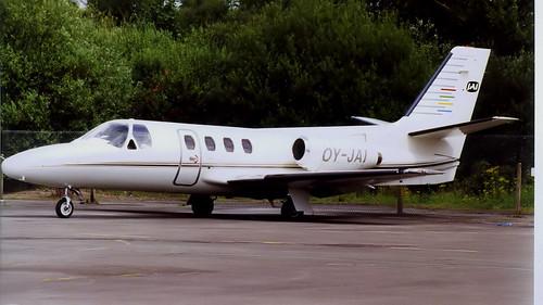 OY-JAI - Cessna 500 Citation I - Blackbushe July 2000