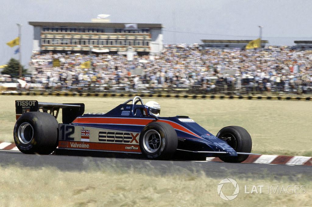 Elio De Angelis & Lotus 81, Buenos Aires, 1980