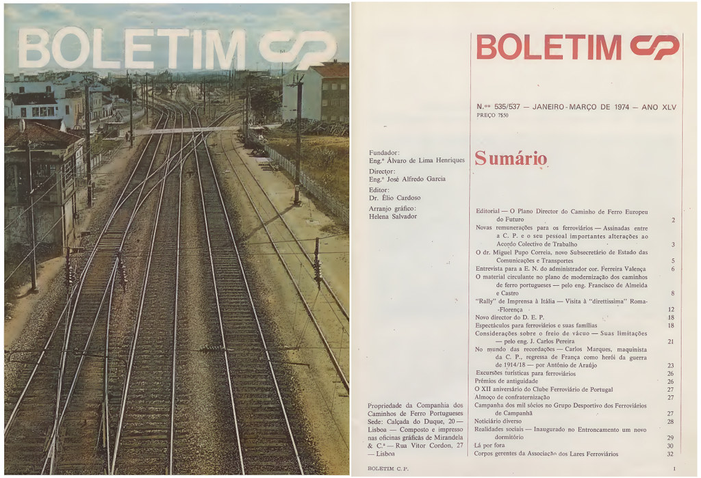 Boletim C.P., n.ºs 535/537, Jan.-Mar., 1974