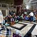 India, Delhi - At evening qawwali devotional music session in the Nizamuddin Dargah - February 2018