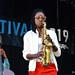 LaKecia Benjamin and Lonnie Plaxico, LaKecia Benjamin Quartet, Charlie Parker Jazz Festival