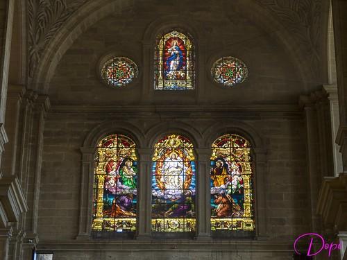 Vidrieras Catedral de Málaga