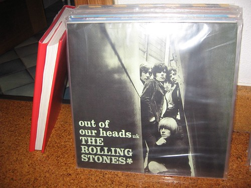 The Rolling Stones vynils and book
