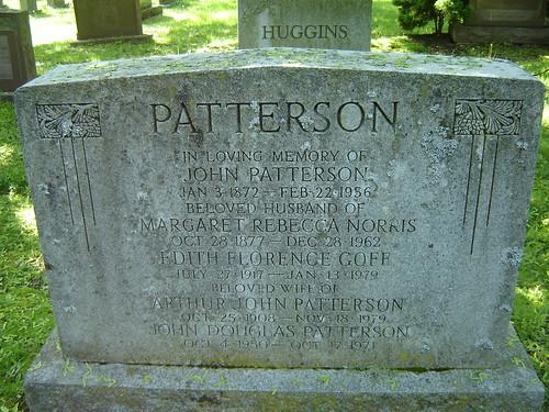Margaret Rebecca Norris Patterson
