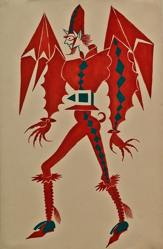 Custom design for the Devil in the