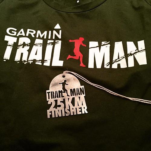 Tak for turen 😊😊😉 #garmin #trailmandenmark #25km #saysky