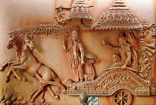 India - West Bengal - Bishnupur - Radha Laljew Temple - Rama - 2