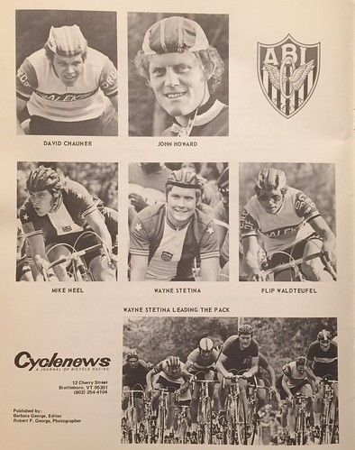 Cyclenews (later called Velonews!) ad in the 11 August 1974 program for the