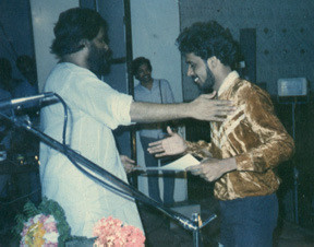 So called living legend, K. J. Yesudas awards Leo, Diploma in Music (Western - Guitar) - 32 years back