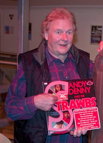 Dave Cousins - Electric Strawbs Gig Glasgow 2011