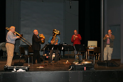 Saint Louis Brass Quintet Rehearsal