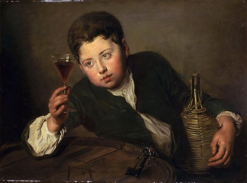 Philippe Mercier - Young Wine Taster