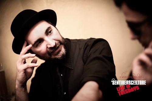 Umberto Palazzo @ SENTIREASCOLTARE live on Tuesdays