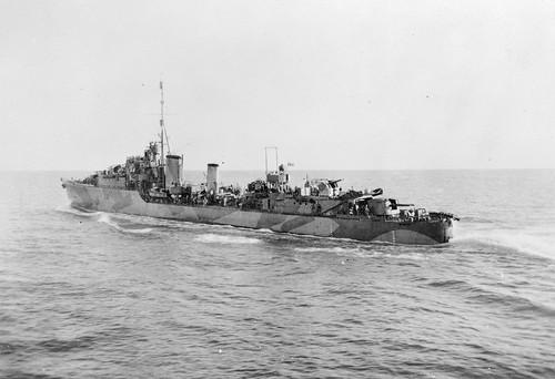 COMPENDIUM:  50 Photostream images of destroyer HMAS WARRAMUNGA [I] - RAN Historical.