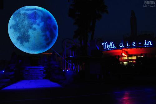 Super Moon Overlooking Mel's