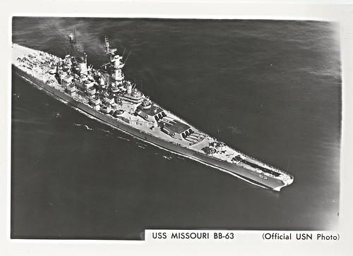 USS Missouri (BB-64), Battleship