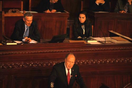 Premiere Séance de l'Assemblée Constituante Tunisienne le 22 November 2011
