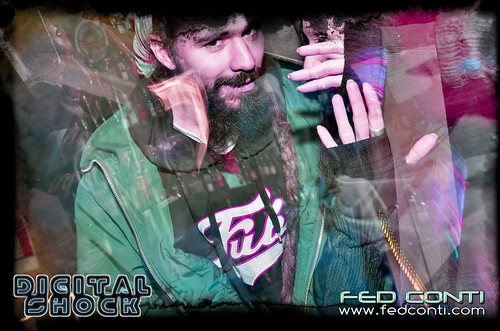 Digital Shock featuring ERRO (Basswarp Crew) + Fed Conti