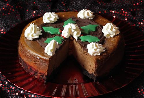 Chocolate Creme de Cacao Cheesecake