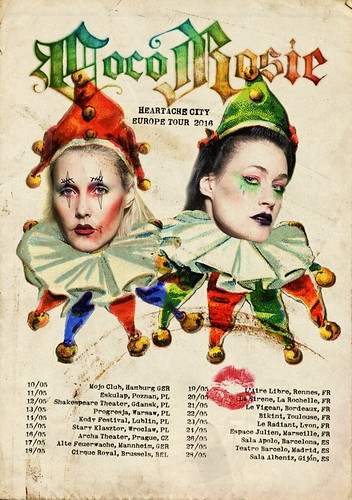 CocoRosie – Heartache City Tour Poster