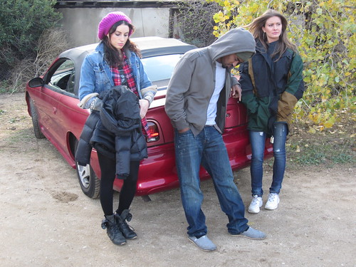 Samantha Gutstadt (Mary), Dahrio Wonder (Peter),Holly Weber (Paula), HUFF Movie