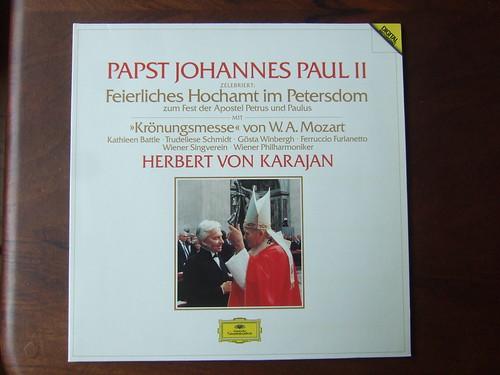 Papst Johannes Paul II zelebriert Feierliches Hochamt im Petersdom zum Fest der Apostel Petrus und Paulus - Mozart - Messe C-dur