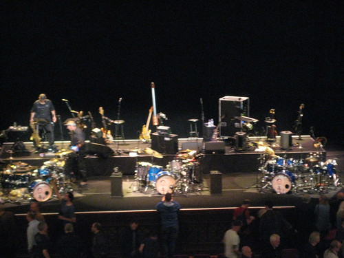 King Crimson Stage (after the gig)