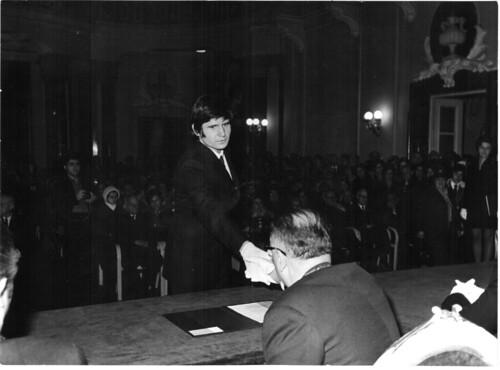ELTE Diplomaosztó 1974 (2)