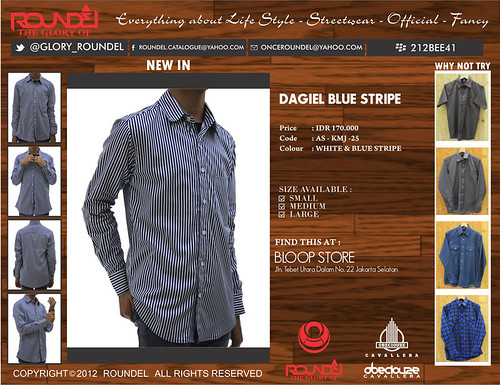 DAGIEL BLUE STRIPE