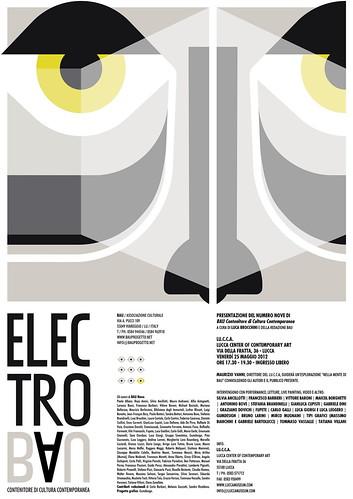 ELECTRO BAU Presentazione del numero Nove di BAU Contenitore di Cultura Contemporanea  Venerdì 25 maggio 2012 ore 17.30-19.30 - ingresso libero