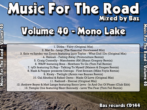 2012-04 (Music For The Road Volume 40 - Mono Lake) - Rear Cover