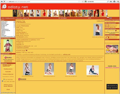 agness top odloty net 510-968-965 warszawa 510968965