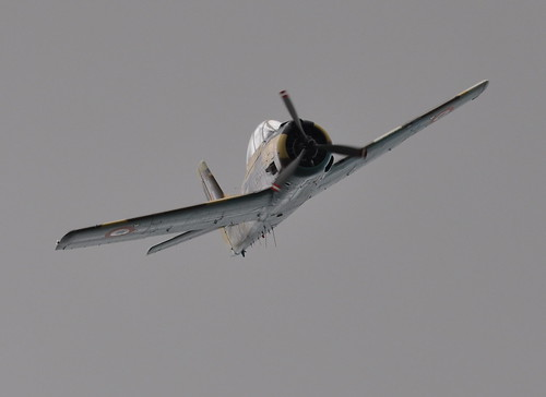 North American AT-28D Fennec - N14113 - RAF Benson Families Day 2012
