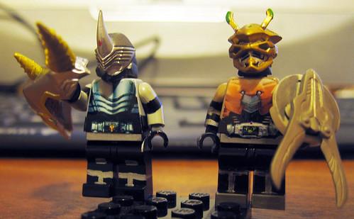 Ryuki Dragon Knight LEGO Scissors Gai Incisor Thru