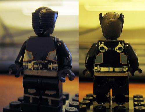 Kamen Rider Ryuki Dragon Knight LEGO Ryuga Onyx