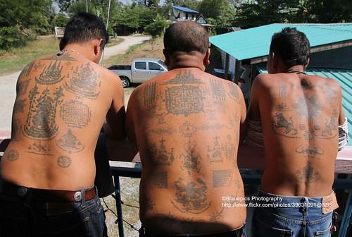 Ayutthaya, Samnak Kob, Sak Yant Tattoos