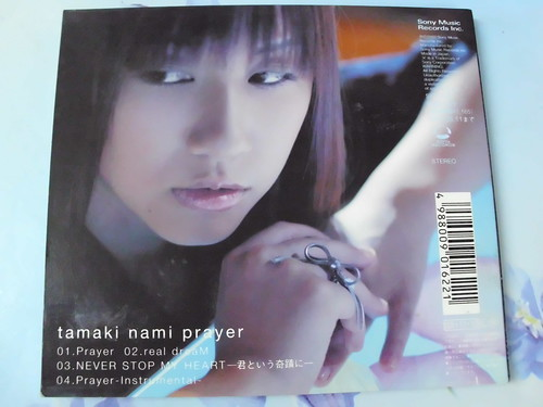 原裝絕版 2003年  11月12日 玉置成實 TAMAKI NAMI 玉置成実 Prayer CD 原價1223yen 中古品 4
