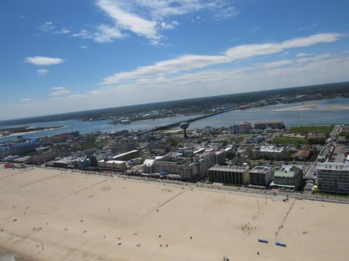 Ocean City, MD Beach on Boardwalk