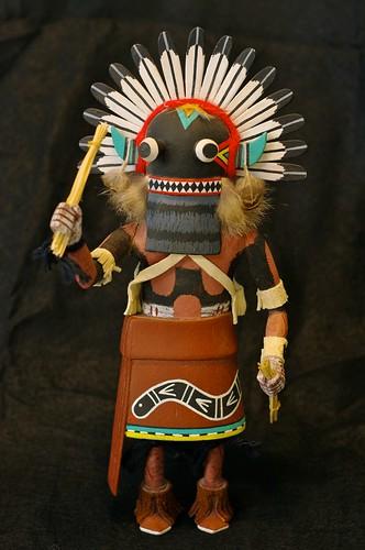 Hopi Broad Face Kachina