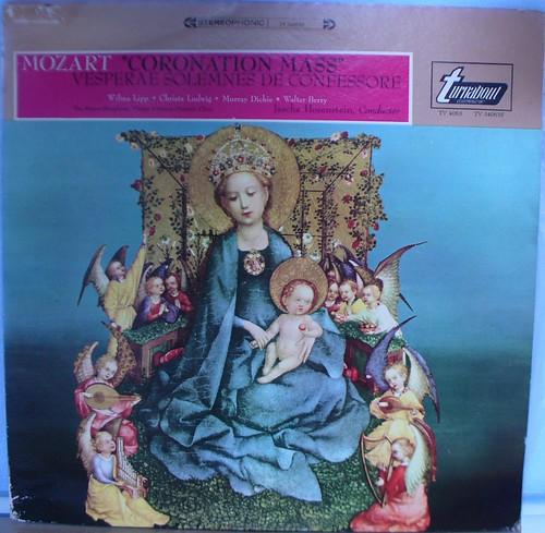 Mozart. Misa de la coronación en Do Mayor kv  317. Vesperae Solemmnis de Confesore kv  339