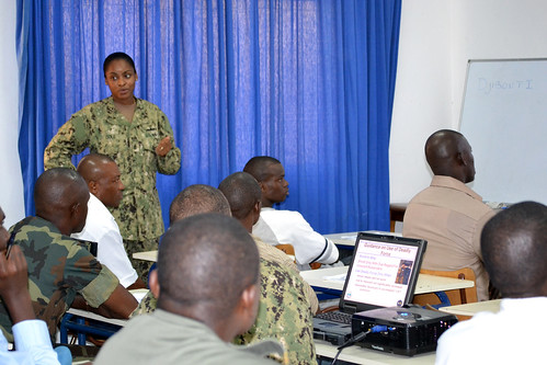 Noncommissioned officer leadership training in support of Africa Partnership Station