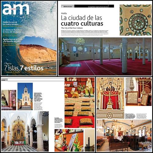 Melilla - Ruta de los Cuatro Templos - Revista Azul Marino número 66 año 2012 - Acciona Trasmediterranea