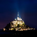È sera a Mont Saint-Michel