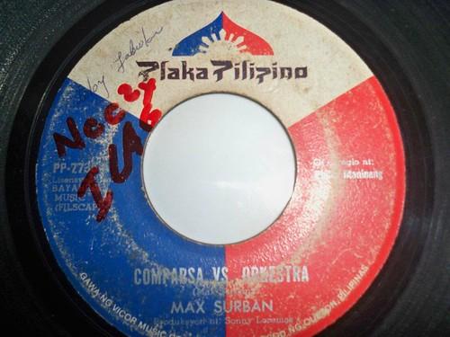 Comparsa VS. Orkestra - Max Surban 45rpm