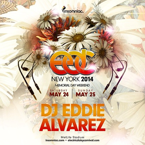 Even with two months to go, my mind is on bringing all my fans, and fans to be, an amazing set, and amazing #experience at #edcny. #DjEddieAlvarez #Insomniac #EDC #edcnyc #Underground #house #edm #plur #Kandi #techno #pachanyc #pacha #Exchangela #exla #ra